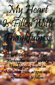 thanksgiving concert 2015 invitation